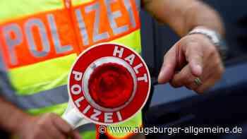 Zwei Fahrer unter Einfluss von Drogen am Steuer - Augsburger Allgemeine