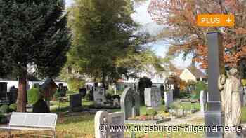 Bei Friedhofsmauern in Krumbach gibt es Handlungsbedarf - Augsburger Allgemeine