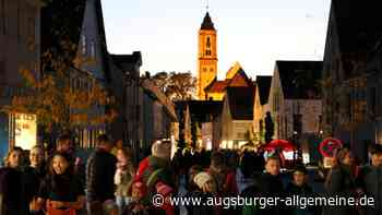 Nach zwei Jahren Pause gibt es in Krumbach wieder eine Lichternacht - Augsburger Allgemeine