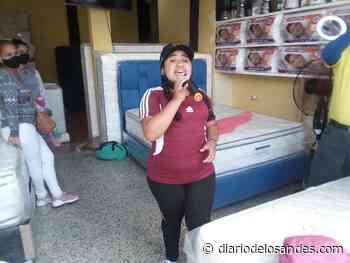 """Arianny Valentina """"La Flor de Boconó"""" y sus amigos homenajearon el programa Noches Boconesas - Diario de Los Andes"""