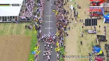 Mundiales de ciclismo Flandes 2021 | Vídeo: La insólita imagen de Van der Poel con su bidón que no se vio en el Mundial - Eurosport ESCOM
