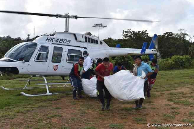 Cerca de 1.000 indígenas Emberá están desplazados en Dabeiba (Antioquia) - El Espectador