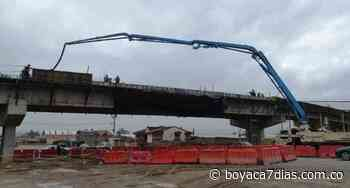 Lista estructura de puente elevado entre Nobsa y Sogamoso, pero aún no podrá usarse #Tolditos7días - Boyacá 7 Días