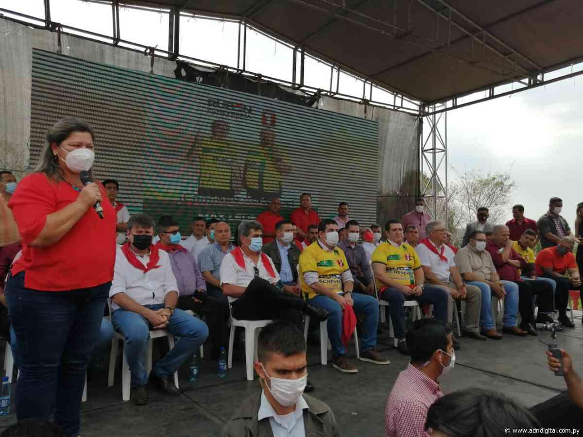 """Candidata a intendenta de Itacurubí de la Cordillera pide a colorados """"hacer una gran gestión"""" - ADN Digital - ADN Digital"""