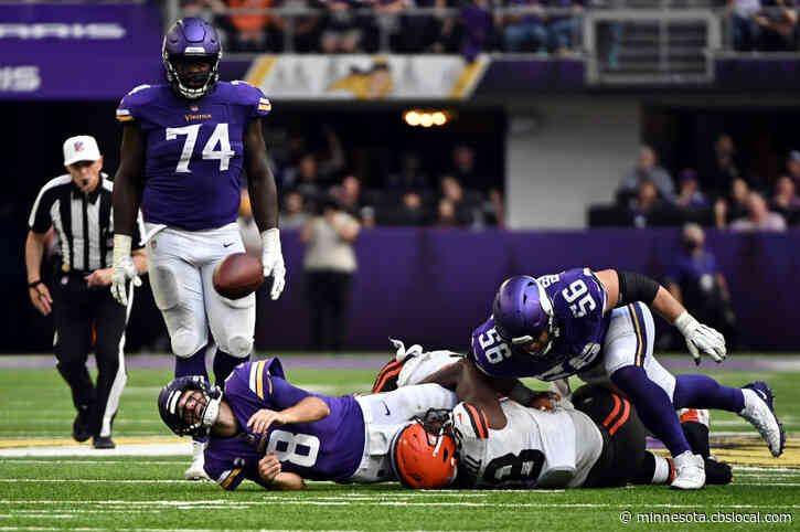 Vikings Offense Stifled In 14-7 Loss To Browns