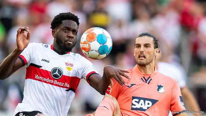 VfB Stuttgart stürmt zum Sieg gegen Hoffenheim - Sportschau