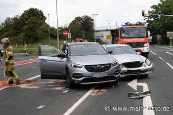 Unfall in Aschaffenburg sorgt ebenfalls für Verkehrsbehinderungen am Sonntagmorgen - Main-Echo
