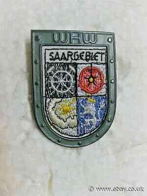 WHW RSS, Cross Country Crest: Saar area, tieste 046.1