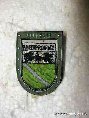 WHW RSS, Cross Country Crest: Rhine Province, tieste 045.1