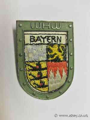 WHW RSS, Cross Country Crest: Bavaria, tieste 040.1