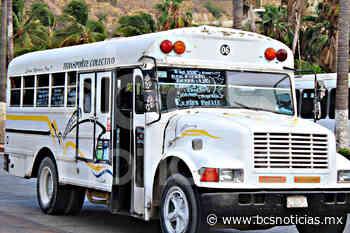 Aprueban nueva ruta de transporte para Cabo San Lucas; dan exclusividad a grupo de transportistas - BCS Noticias