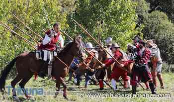 Los Tercios de Flandes asombran a Salamanca con una vistosa recreación histórica - Tribuna de Salamanca