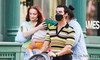 Sophie Turner and Joe Jonas spotted out with little Willa - HOLA USA