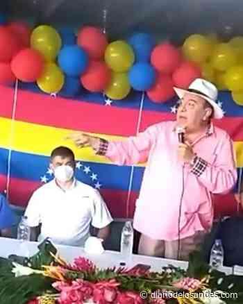 JH: «reto al Capitán Márquez a caminar Boconó conmigo y medir el respaldo popular» - Diario de Los Andes