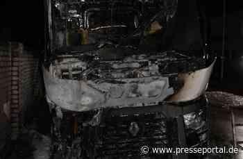 POL-COE: Coesfeld, Lübbesmeyerweg/ Führerhaus ausgebrannt - Presseportal.de