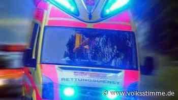 Unfall mit einer schwerverletzten Person in Oschersleben - Volksstimme