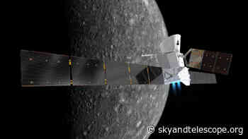 BepiColombo First Picture of Mercury (Updated)