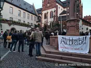 Viel Solidarität in Aschaffenburg: Ali Acig beendet vorerst Hungerstreik - Main-Echo