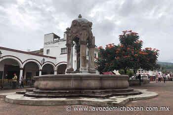 La Fuente de la Aguadora, monumento emblemático de Jiquilpan, en riesgo por la humedad - La Voz de Michoacán