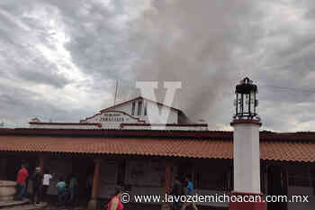 Se incendia el Mercado Zaragoza, de Jiquilpan; daños materiales son cuantiosos - La Voz de Michoacán