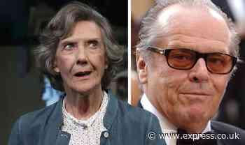 Eileen Atkins talks 'ridiculous' reaction to telling Jack Nicholson his flies were undone - Express