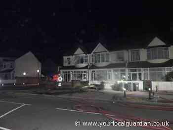 London Road Thornton Heath fire: 70 people evacuate houses
