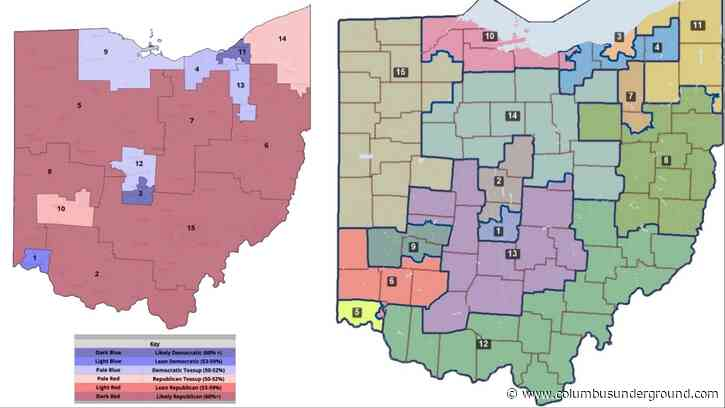Congressional Maps Proposed as Process Heads back to Ohio Redistricting Commission