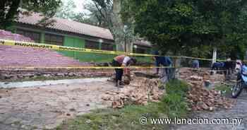 Lamentable: escuela de Lambaré está con varias aulas clausuradas y ayer se cayó la muralla - La Nación.com.py