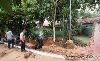 Cae la muralla de una escuela en Lambaré y reclaman asistencia - Hoy