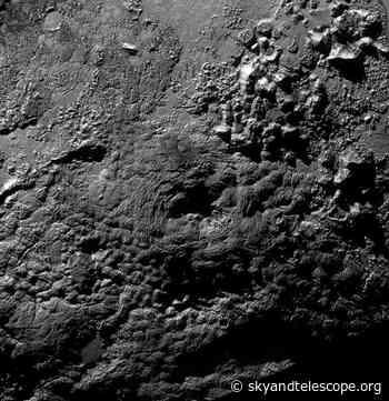 Plutonian Mounts Aren't Ice Volcanoes