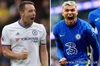 John Terry wishes he had played alongside Chelsea star Thiago Silva after stunning performance against... - The Sun