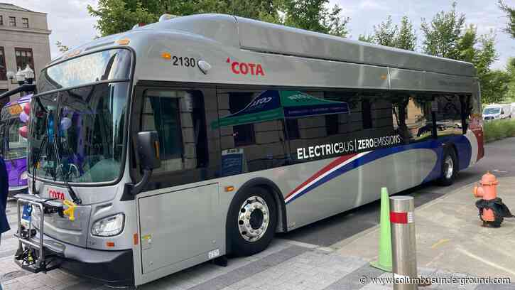 COTA's First Electric Buses to Start Running Next Week