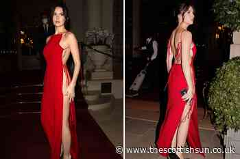 Liam Payne's girlfriend Maya Henry shows sideboob as she goes braless & knickerless at Paris Fashion Week... - The Scottish Sun