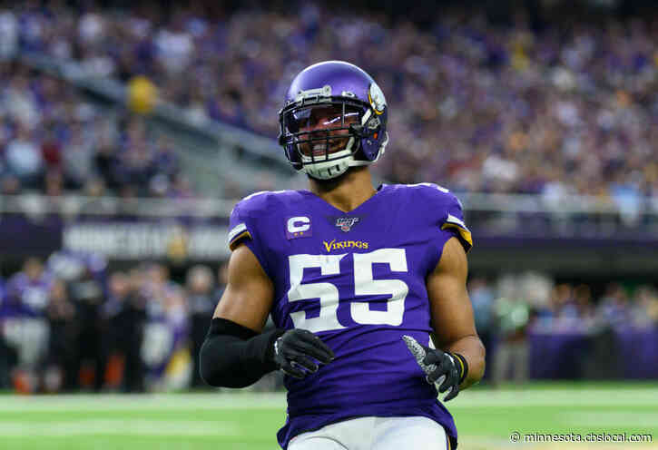 'Nobody Wants To Play More Than Me': Anthony Barr Is Finally Back