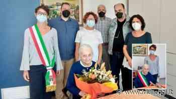 Tolmezzo, festa per il centenario di Maria Nadali, storica commerciante - Friuli Oggi