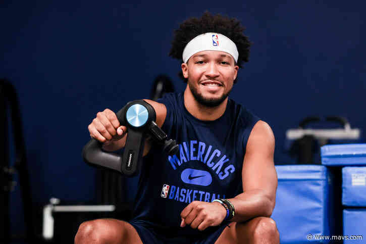 Mavericks partner with Therabody to stay on cutting edge of physical wellbeing