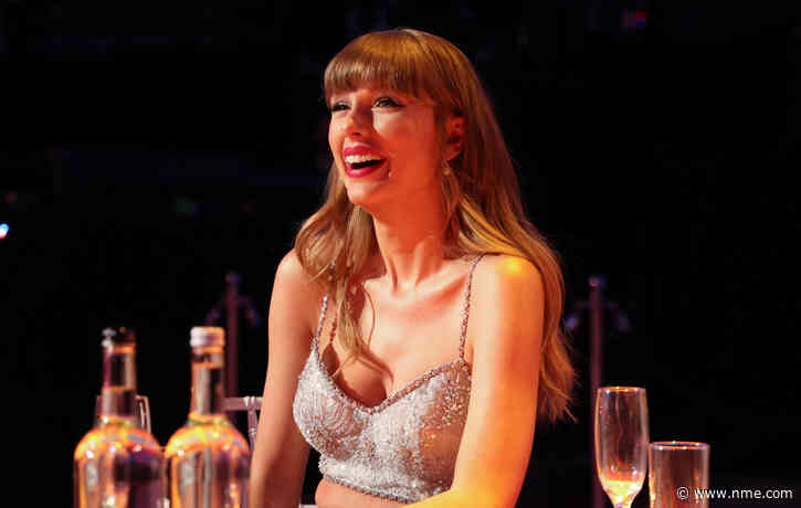 Taylor Swift thanks her fans after accepting award for 'Folklore' film