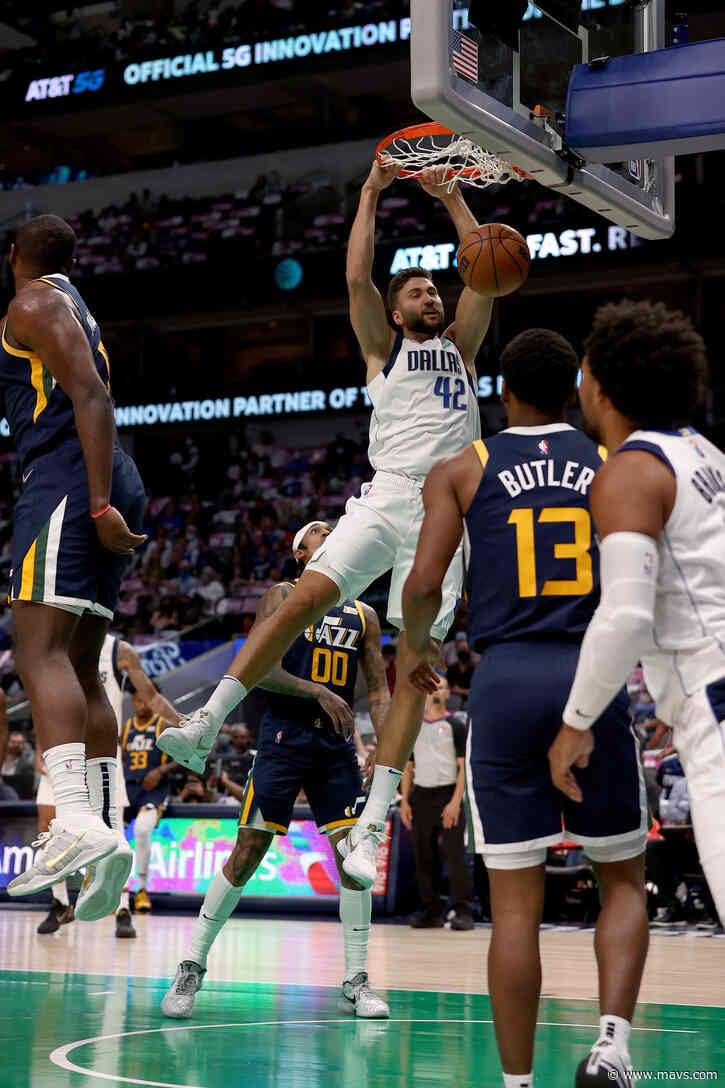 Doncic, Marjanovic guides Mavs to 111-101 win over Jazz