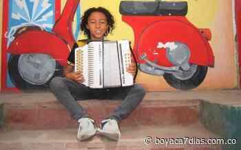 Un niño de Nobsa representará a Boyacá en el Festival de la Leyenda Vallenata en Valledupar - Boyacá 7 Días