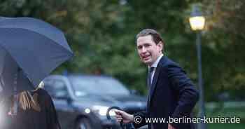 Razzia bei der ÖVP! Auch bei engen Vertrauen von Österreichs Kanzler Kurz gab es Durchsuchungen - Berliner Kurier