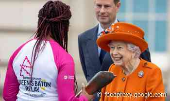 Queen leaves hidden message inside baton as the 2022 Commonwealth Games countdown begins