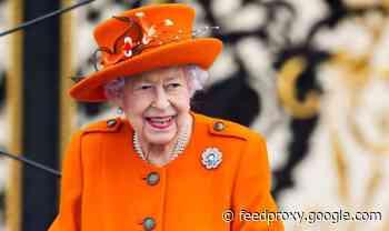 Queen Elizabeth II sports diamond rose brooch in touching gesture to Prince Philip