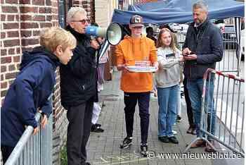 Kinderen trotseren lastig hindernissenparcours tijdens kelne... (Linter) - Het Nieuwsblad