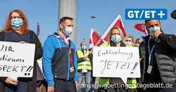 Zu viel Stress: Mitarbeiter am Flughafen Hannover fordern Entlastung