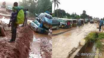 Ubani laments deplorable state of Umuahia-Ikwuano-Ikot Ekpene road, writes Buhari - Daily Post Nigeria