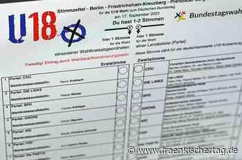 U18-Wahl in Lichtenfels: Jugend wählt wie die Alten - Fränkischer Tag