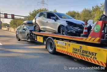 E313 gedeeltelijk afgesloten na ongeval
