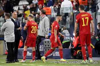Eden Hazard verlaat kamp Rode Duivels