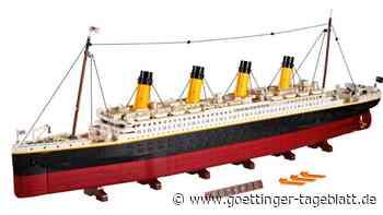 Mehr Teile gab es noch nie: Lego bringt Titanic-Modell heraus