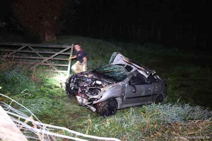 Twee gewonden bij zwaar verkeersongeval in Niel